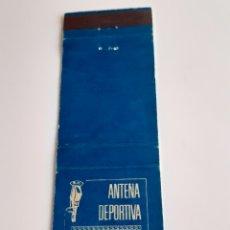 Cajas de Cerillas: CARTERITA CERILLAS - RADIO CENTRO - ANTENA DEPORTIVA - 1970. Lote 156706176