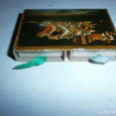 Cajas de Cerillas: ANTIGUA CAJA DE CERRILLAS BENIDORM LLENA. Lote 177711232