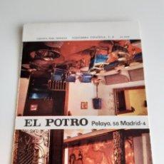 Cajas de Cerillas: CARTERITA CERILLAS - BAR, CLUB EL POTRO - MADRID. PERFECTA!!. Lote 149215546
