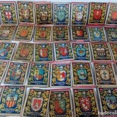 Cajas de Cerillas: COLECCION FOSFOROS AÑOS 40 - ESCUDOS DE CIUDADES. Lote 177721388