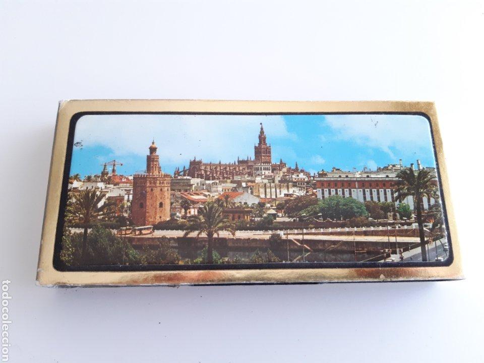 ESTUCHE CAJAS CERILLAS - RECUERDO DE ESPAÑA - SEVILLA (Coleccionismo - Objetos para Fumar - Cajas de Cerillas)
