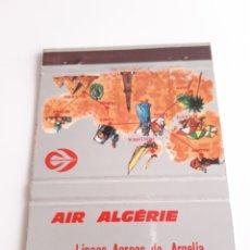 Cajas de Cerillas: CARTERITA CERILLAS - AIR ALGERIE - LINEAS AEREAS DE ARGELIA. Lote 219232932
