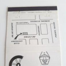 Cajas de Cerillas: CARTERITA CERILLAS - CARAVANA - CLUB, BAR AMERICANO - MADRID. Lote 177888275
