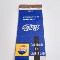 Cajas de Cerillas: CARTERITA CERILLAS - PEPSI COLA. Lote 151009061