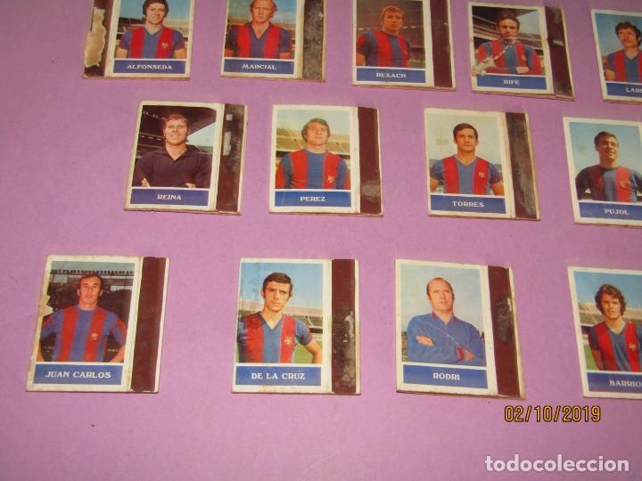 Cajas de Cerillas: Antiguo Lote 16 Cajas de Cerillas Jugadores de Futbol del F.C. BARCELONA - Año 1970s. - Foto 3 - 178066363