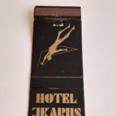 Cajas de Cerillas: CARTERITA CERILLAS - HOTEL JKARUS ( TENERIFE ). Lote 150124826