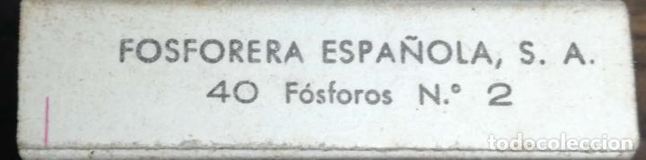 Cajas de Cerillas: LOTE DE 22 CAJA DE CERILLAS. FOSFORERA ESPAÑOLA. MAYORIA VACIAS. FAUNA MARINA. - Foto 5 - 178177121