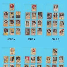Cajas de Cerillas: LOTE DE 6 SERIES COMPLETAS DE CROMOS PUBLICITARIOS DE CAJAS DE CERILLAS. GAL. AÑOS 20. Lote 178223958