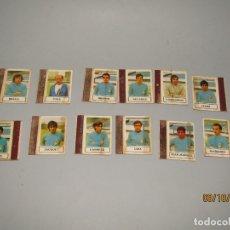 Cajas de Cerillas: ANTIGUO LOTE 12 CAJAS DE CERILLAS JUGADORES DE FUTBOL R. OVIEDO - AÑO 1970S.. Lote 178271588