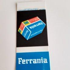 Cajas de Cerillas: CARTERITA CERILLAS - FERRANIA - FILMS - PERFECTA!!. Lote 145423836