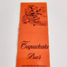 Cajas de Cerillas: CARTERITA CERILLAS - BAR TAPACHULA - MADRID. Lote 145896790