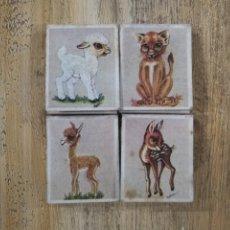 Cajas de Cerillas: LOTE CARTERITAS CERILLAS ANIMALES. Lote 178672265