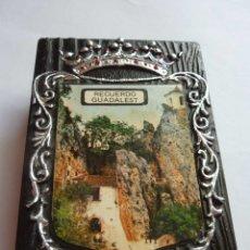 Cajas de Cerillas: ANTIGUA COLECCION DE CAJAS DE CERILLAS. GUADALEST. DOS CAJAS. Lote 178789340