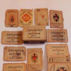 Cajas de Cerillas: ANTIGUAS DE CERILLAS MONOPLIO COMPAÑIA ARRENDATARIA DE FOSFOROS. Lote 178904263