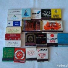 Cajas de Cerillas: 19-LOTE DE 20 CAJAS DE CERILLAS. Lote 178910395