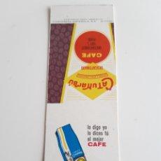 Cajas de Cerillas: CARTERITA CERILLAS - CAFE CATUNAMBU. PERFECTA!!. Lote 149347937