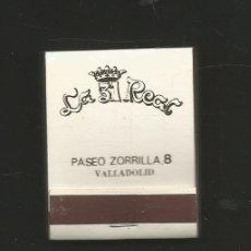 Cajas de Cerillas: CAJA DE CERILLAS COMPLETA LA 31 REAL - VALLADOLID. Lote 178991832