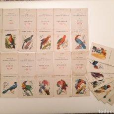 Cajas de Cerillas: COLECCIÓN CERILLAS - AVES (AÑOS 60). Lote 179179080