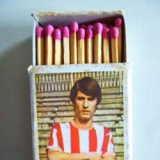 Cajas de Cerillas: CAJA DE CERILLAS FÓSFOROS DEL PIRINEO FUTBOL 1972-73 ROJO II ATHLETIC CLUB DE BILBAO. Lote 179257213