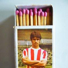 Cajas de Cerillas: CAJA DE CERILLAS FÓSFOROS DEL PIRINEO FUTBOL 1972-73 ROJO I ATHLETIC CLUB DE BILBAO. Lote 179257242