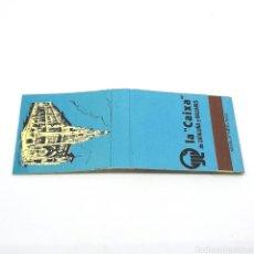 Cajas de Cerillas: (CAZ1) CAJA CERILLAS PUBLICITARIA - LA CAIXA. Lote 179547776