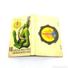 Cajas de Cerillas: (CAZ1) CAJA CERILLAS PUBLICITARIA - VII FERIA DE MUESTRAS IBEROAMERICANA. SEVILLA 1967. Lote 179549473
