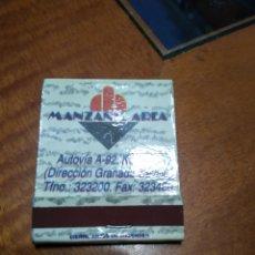 Cajas de Cerillas: CERRILAS MANZANIL ÁREA. Lote 179555516