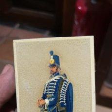 Cajas de Cerillas: ANTIGUA CAJA DE CERILLAS DE SOLDADOS HÚSARES. Lote 179955882