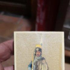 Cajas de Cerillas: ANTIGUA CAJA DE CERILLAS DE SOLDADOS. Lote 179956040