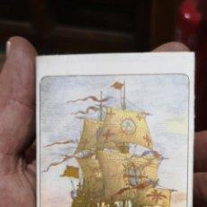 Cajas de Cerillas: ANTIGUA CAJA DE CERILLAS DE GALEONES. Lote 179956157