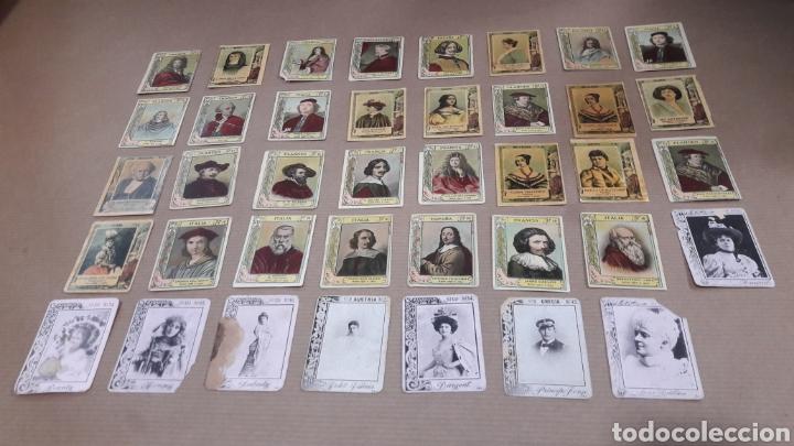 LOTE 39 CROMOS FOTOTIPIAS CAJAS CERILLAS (Coleccionismo - Objetos para Fumar - Cajas de Cerillas)
