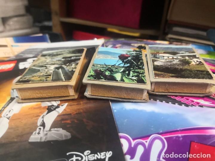 Cajas de Cerillas: 3 cajas de cerillas dobles. Por un lado torero y otro con paisaje - Foto 3 - 180106422