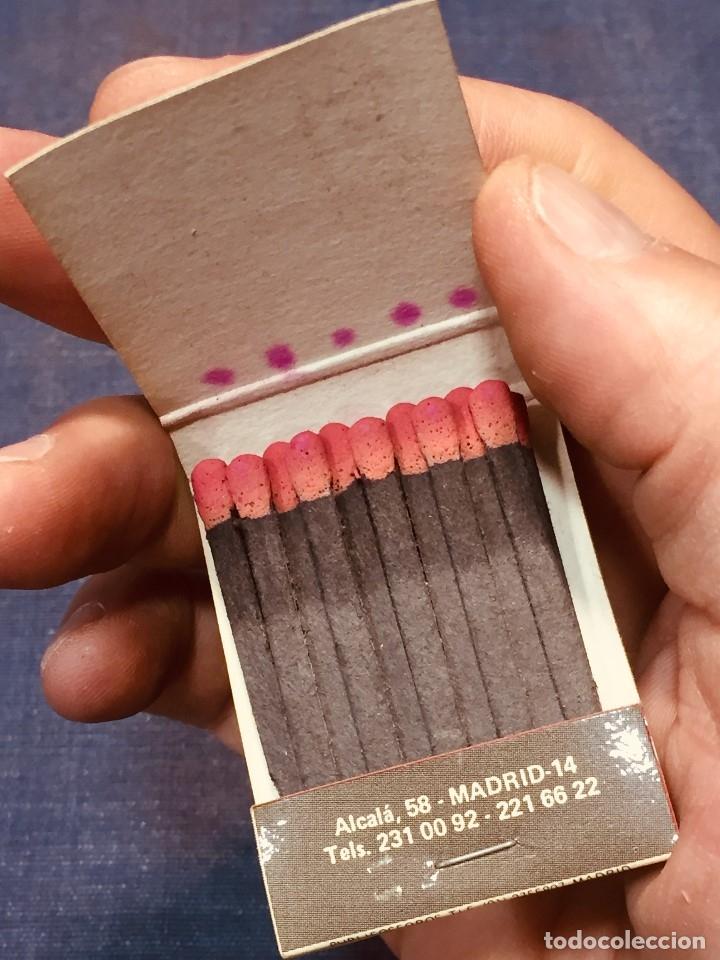 Cajas de Cerillas: CAJA CERILLAS WINSTON ANVERSO PUBLICIDAD CLUB 31 - Foto 5 - 180125461