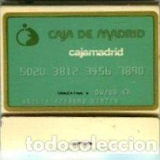 Cajas de Cerillas: CAJAMADRID CARTERITA DE CERILLAS 5 X 5 CMS. APROX.SIN USO LLENA. Lote 180263248