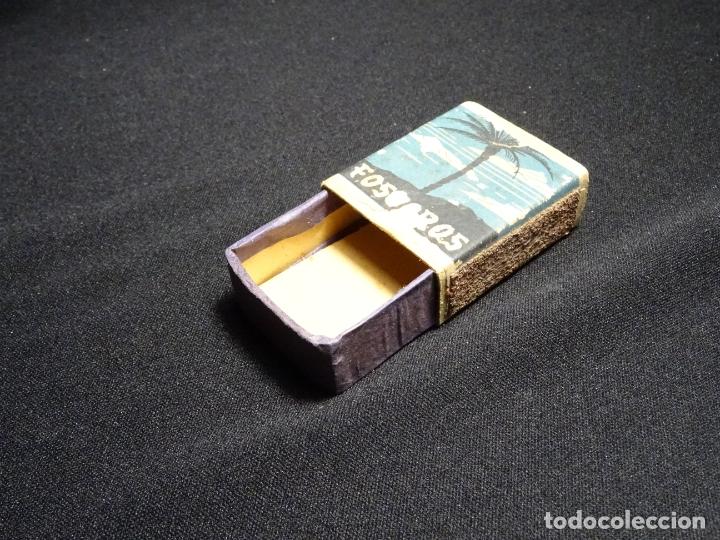 CAJA CERILLAS AÑO 1944, FOSFORERA CANARIENSE (Coleccionismo - Objetos para Fumar - Cajas de Cerillas)