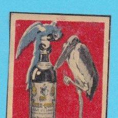 Cajas de Cerillas: JOSÉ PEMARTIN. JEREZ. CROMO PUBLICITARIO DE CAJA DE CERILLAS. AÑOS 20. Lote 180842778