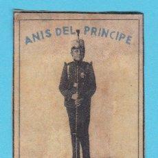 Cajas de Cerillas: ANÍS DEL PRÍNCIPE. BONILLA Y SAINZ, CAZALLA. CROMO PUBLICITARIO DE CAJA DE CERILLAS. AÑOS 20. Lote 180846323