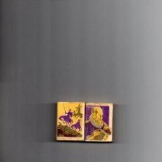 Cajas de Cerillas: ANTIGUA CARTERITA DE CERILLAS LA DE LA FOTO DON QUIJOTE SEGUROS CERVANTES . Lote 180847471