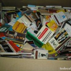 Cajas de Cerillas: GRAN LOTE DE 556 CAJAS DE CERILLAS CASI TODAS LLENAS , SON DE PROPAGANDA. Lote 181342531
