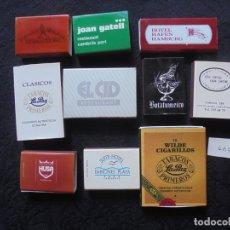 Cajas de Cerillas: LOTE 10 CAJAS CERILLAS. Lote 181425371