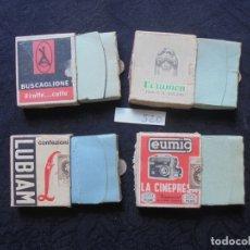 Cajas de Cerillas: LOTE 4 CAJAS CERILLAS VINTAGE . Lote 181428141