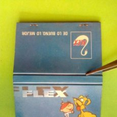 Cajas de Cerillas: CAJA DE CERILLAS FLEX. Lote 181722802