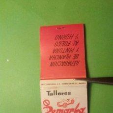 Cajas de Cerillas: CAJA DE CERILLAS TALLERES PEMARBA. Lote 182112237