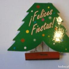 Cajas de Cerillas: CAJA DE CERILLAS ABETO FELICES FIESTAS NUEVA. Lote 213480975
