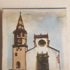 Cajas de Cerillas: TOMAR PORTUGAL IGLESIA PUBLICIDAD CAJA DE CERILLAS. Lote 183778581