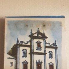 Cajas de Cerillas: BEJA PORTUGAL IGLESIA PUBLICIDAD CAJA DE CERILLAS. Lote 183778825