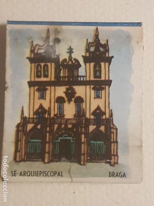 BRAGA PORTUGAL SE PUBLICIDAD CAJA DE CERILLAS (Coleccionismo - Objetos para Fumar - Cajas de Cerillas)