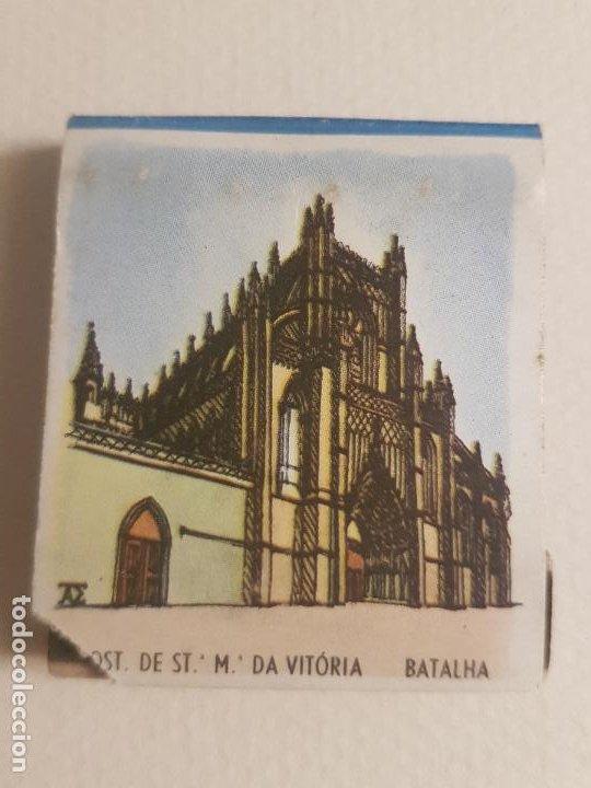 BATALHA PORTUGAL MONASTERIO PUBLICIDAD CAJA DE CERILLAS (Coleccionismo - Objetos para Fumar - Cajas de Cerillas)