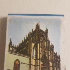 Cajas de Cerillas: BATALHA PORTUGAL MONASTERIO PUBLICIDAD CAJA DE CERILLAS. Lote 183780680