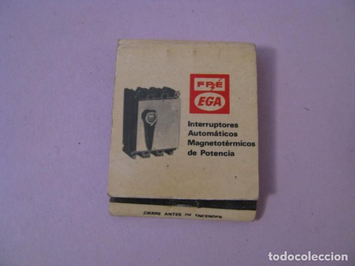CARTERITA DE CERILLAS. FPE EGA. ENRIQUE GARRELL ALSINA. GRANOLLERS (Coleccionismo - Objetos para Fumar - Cajas de Cerillas)